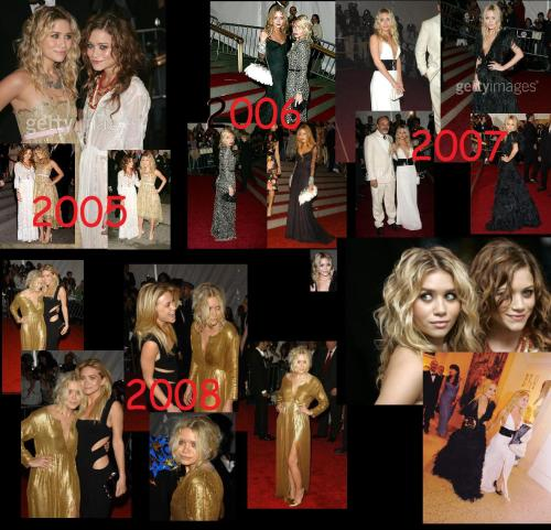 Met Costume Institute gala 2005-2008