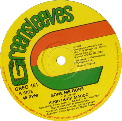 Hugh Madoo - Gone Me Gone