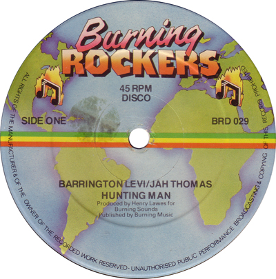 Barrington Levi & Jah Thomas - Hunting Man