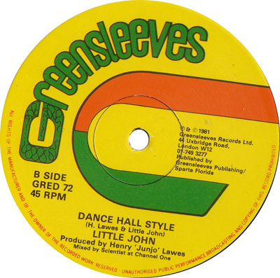 Little John - Dance Hall Style
