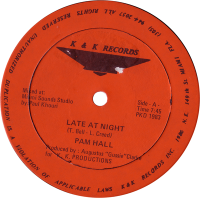 Pam Hall - Late At Night