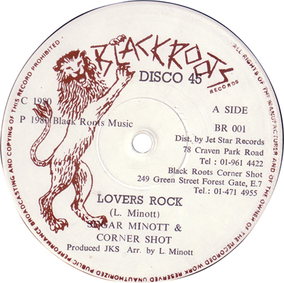 Sugar Minott - Lovers Rock