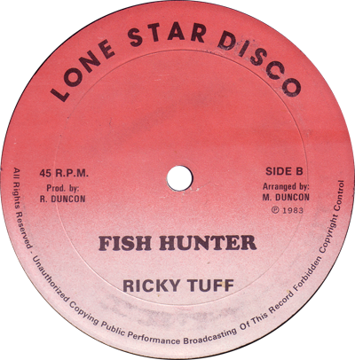 Ricky Tuffy - Fish Hunter (Lone Star Disco)