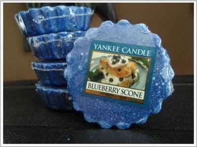 Yankee Candles - Blueberry Scones Wax Tarts