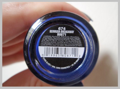 China Glaze - Bermuda Breakaway