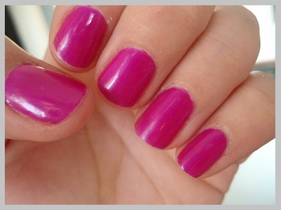 China Glaze - Purple Panic ( neon )