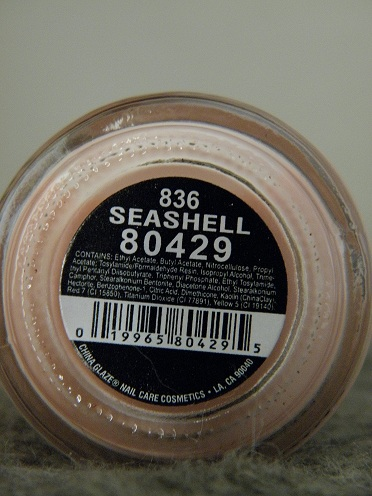 China Glaze - Seashell