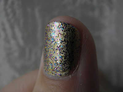 NOTD - 3/9-11 Me Sparklee and She Barbie!