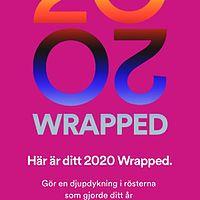 Spotify wrapped: 2020