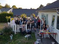 Sommarfest + stugbesök