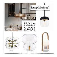 Tävla & Vinn en av dessa lampor - i samarbete med ...
