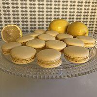 Macarons med citron