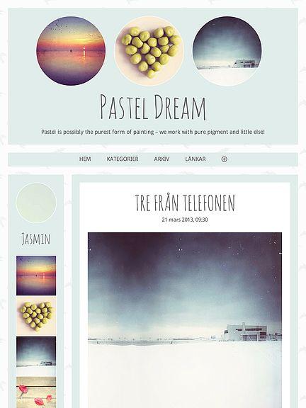 Pastel dream tablet