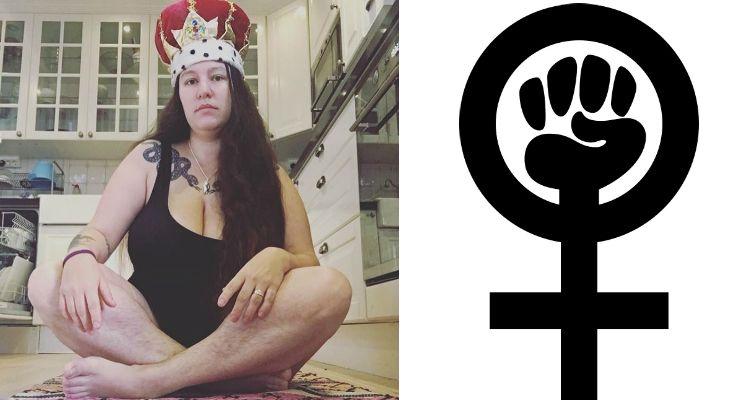 LD - feminism collage