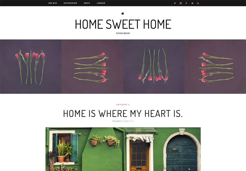 Home Sweet Home - browser